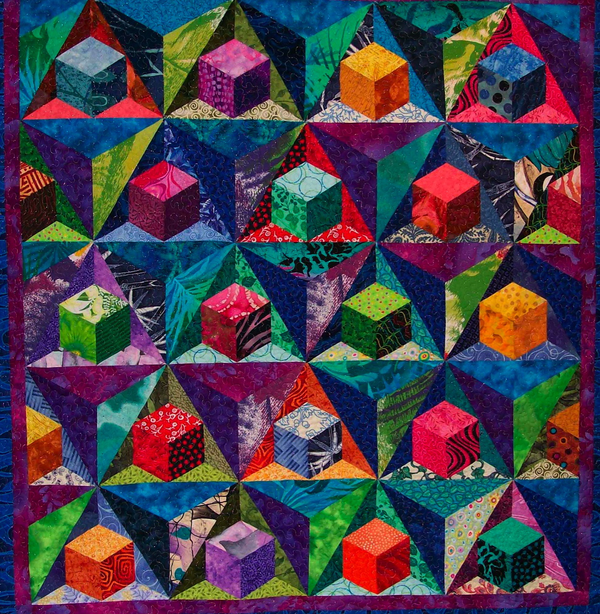 Sondra Hassan Quilts In Color